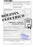 Boletin electrico/gas/agua/termico...... - foto