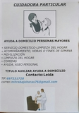AYUDA A DOMICILIO . SERVICIO DOMESTICO - foto
