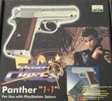 Playstation 1 + pistola para time crisis - foto