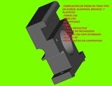 Mecanizado de piezas -Envios nacinales - foto