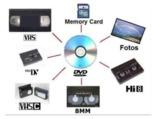 Copias VHS a DVD - foto