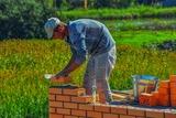 Construcción y reparación de muros - foto
