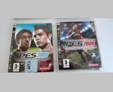 2 juegos playstation 3 pes 2008 y 2009 - foto