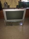 televisión con tdt y mesa - foto