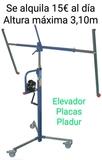 Elevador placas de Pladur - foto