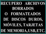 Recuperar datos disco duro,usb,mÓvil,tar - foto