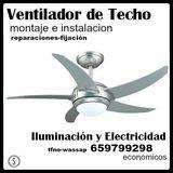 Montaje Ventilador de Techo - foto