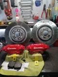 kit frenos 4 pistones brembo y discos - foto