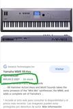 Yamaha MM8 88 teclas contrapesadas - foto