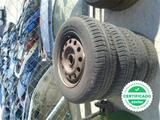 4 ruedas con llanta hierro ford scort - foto