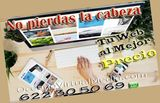 * quieres tu propia web * - foto