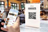 Carta QR virtual para restaurantes bares - foto