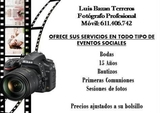 Fotografo profesional Luis Bazan - foto