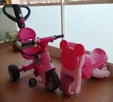 Triciclo y moto infantil FEBER - foto