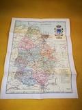 carta Geográfica Lugo año 1955 - foto