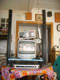 TV+ TDT+Antena +lector DVDes + Altavoces - foto