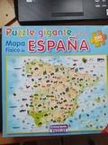 puzzle mapa de españa - foto