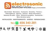Servicios electricidad y fontanería - foto