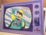 Bandeja vintage de Los Simpson - foto