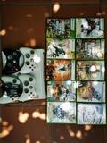 Xbox 360 con 4 mandos y 10 juegos - foto