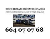 BUSCO TRABAJO EN SECTOR AUTOMOCION - foto