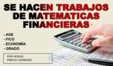 TAREAS MATEMÁTICAS FINANCIERAS - foto