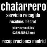 Chatarrero Madrid recogida chatarra - foto