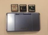 Nintendo DS Azul + 3 Juegos ORIGINALES - foto
