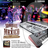Sonidos de México YAMAHA MOTIF XF-MOXF - foto