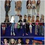 mga mattel bratz muñeca y muñeco - foto