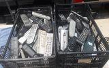 lote mandos de televisiones - foto