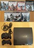 PS3 120g + pack saga Assassins Creed - foto