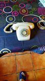 Telefon antiguo de ruleta - foto