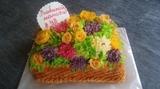 tartas de flores - foto