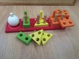 juego encajables madera - foto