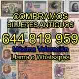 Queremos Billetes Españoles Conozca Valo - foto
