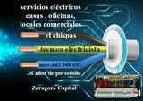 Electricista en Zaragoza - foto