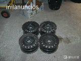 VENDO 4 LLANTAS DE HIERRO DE 14 PULGADAS - foto