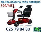SCOOTER ELECTRICO MINUSVALIDOS SIRIUS 40 - foto