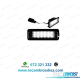 Psb luces de matrÍcula led porsche boxst - foto