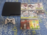 vendo ps3 slim de 320gb - foto
