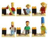 6 Figuras Los Simpson (The Simpsons) - foto