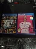 PS4 con 5 años con mandó FIFA 20 y GTA 5 - foto