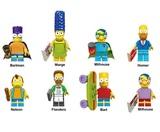 8 FIGURAS Los Simpson (The Simpsons) (Ba - foto