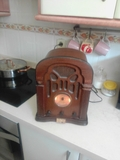 radio antigua de cinta - foto