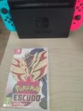 Nintendo Switch + Pokemon escudo - foto