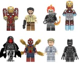 8 FIGURAS Iron Man, Ulysses Klaw, Ghost - foto