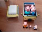 Furgoneta y familia peppa pig - foto
