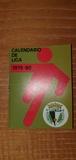 CALENDARIO LIGA FÚTBOL 1979-1980.  - foto