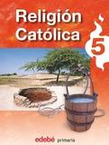 LIBRO DE RELIGIÓN QUINTO DE PRIMARIA - foto